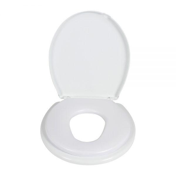 2-IN-1 Toilet Trainer - White