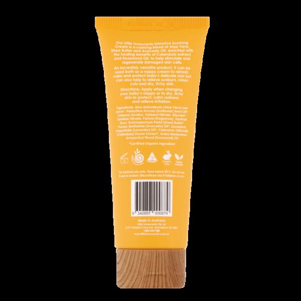 Organic Intensive Soothing Cream 100ml