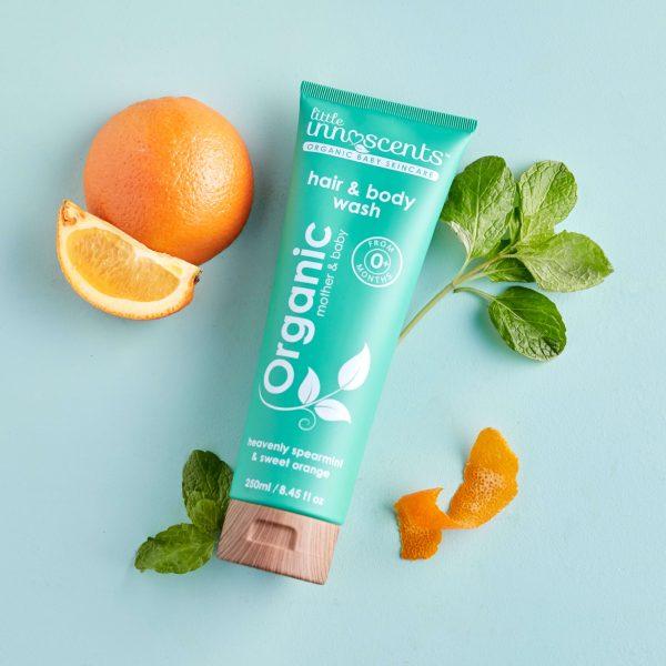 Spearmint & Orange Hair & Body Wash 250ml