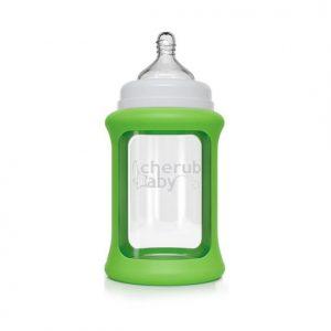 Colour Change Glass Bottles Wide Neck 240ml Single Pack – Green
